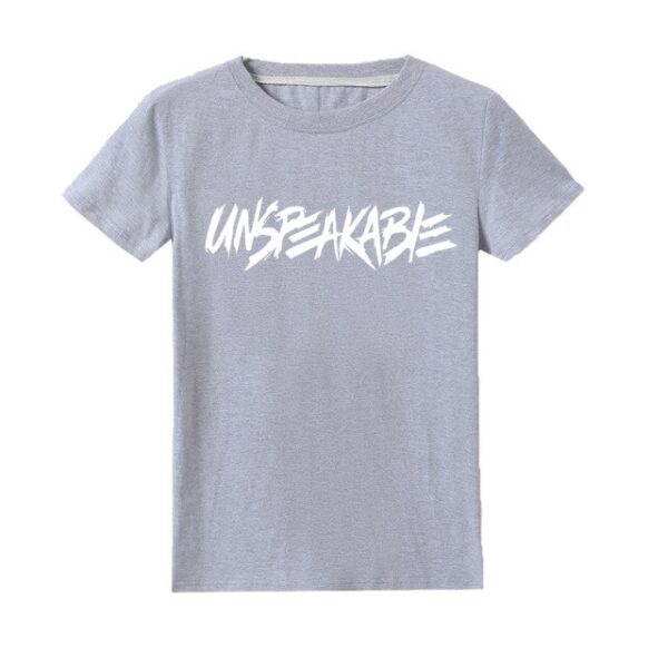 Kids-UNSPEAKABLE-LOGO-Youtuber-Gamer-Fans-Clothes-Boys-T-shirt-Youth-Girls-dddtee-shirt-Funny-Fancy