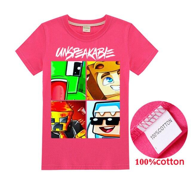 New-Summer-Unspeakable-Boy-T-shirt-Kids-Sweatshirt-Kids-T-shirt-Girlsaa-Unspeakable-Top-T-shirt