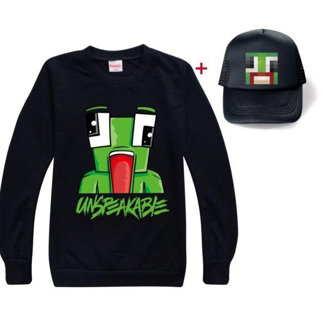 New-Unspeakable-Inspired-T-Shirt-Youtube-Gaming-Vlog-Kids-sweatshirt-qLong-T-Shirt-Girl-Tops-Tees
