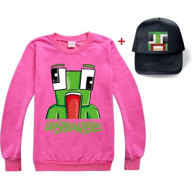 New-Unspeakable-Inspired-T-Shirt-Youtube-Gaming-Vlog-Kids-sweatshirtas-Long-T-Shirt-Girl-Tops-Tees