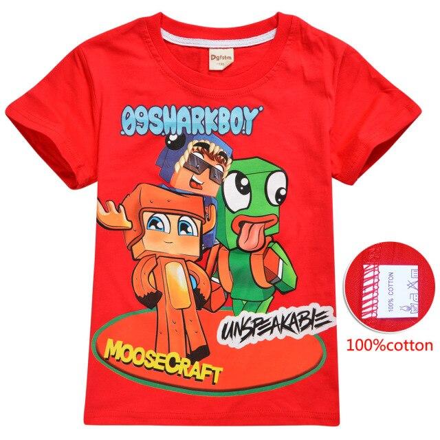 UNSPEAKABLE-Boys-2021-Summer-New-Cotton-T-shirt-Cartoon-asFashion-Casual-Trend-Women-s-Sweatshirt-Short