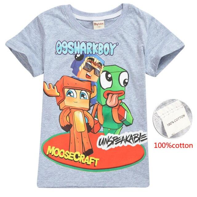UNSPEAKABLE-Boys-2021-Summer-New-Cotton-T-shirt-Cartoonasd-Fashion-Casual-Trend-Women-s-Sweatshirt-Short