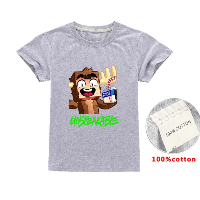 Unspeakable-Inspired-Boys-Clothes-T-Shirt-Youtube-Gaming-Vlog-Kids-Sweatshirt-zsqChildren-T-Shirts-Girls-Tops