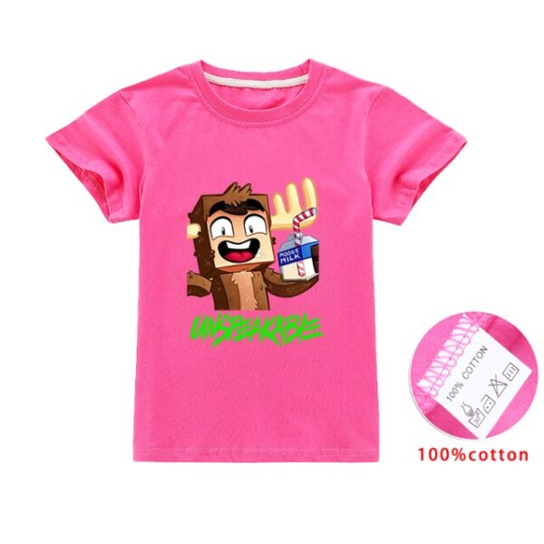 Unspeakable-Inspired-Boys-Clothes-T-Shirt-Youtube-Gaming-Vlog-Kids-aseSweatshirt-Children-T-Shirts-Girls-Tops