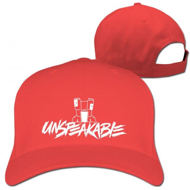 Unspeakable-Inspired-Youtube-Gaming-Vlog-Adults-And-Kids-Baseball-cap-men-women-Trucker-Hats-fashion-asadjustable