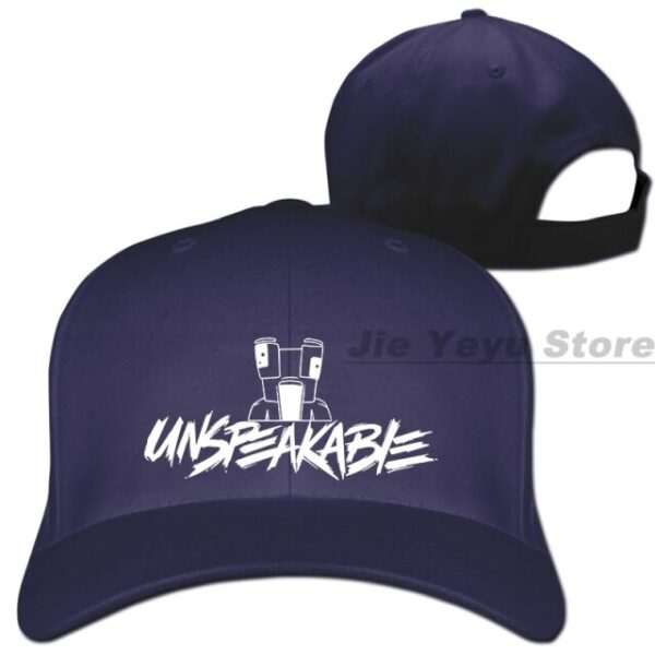 Unspeakable-Inspired-Youtube-Gaming-Vlog-Adults-And-Kids-Baseball-cap-men-women-zxTrucker-Hats-fashion-adjustable