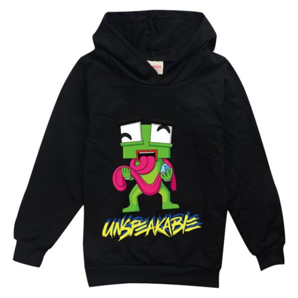 Unspeakable-animated-frog-boy-pure-cotton-long-sleeved-casual-oootrend-simple-multi-color-blouse-children-s