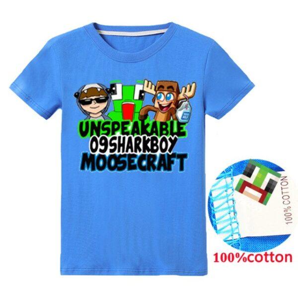 blue-Summer-Unspeakable-Inspired-Youtube-Boys-T-Shirts-asdGaming-Kids-sweatshirt-T-Shirt-For-Girls-Tops