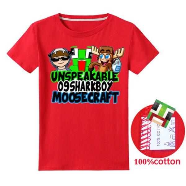 blue-Summer-Unspeakable-Inspired-Youtube-Boys-T-aaShirts-Gaming-Kids-sweatshirt-T-Shirt-For-Girls-Tops